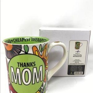 Thanks Mom mug